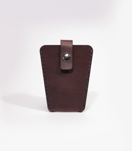 Leather Key Case in Chestnut Brown Made In The UK by Lost Kind®